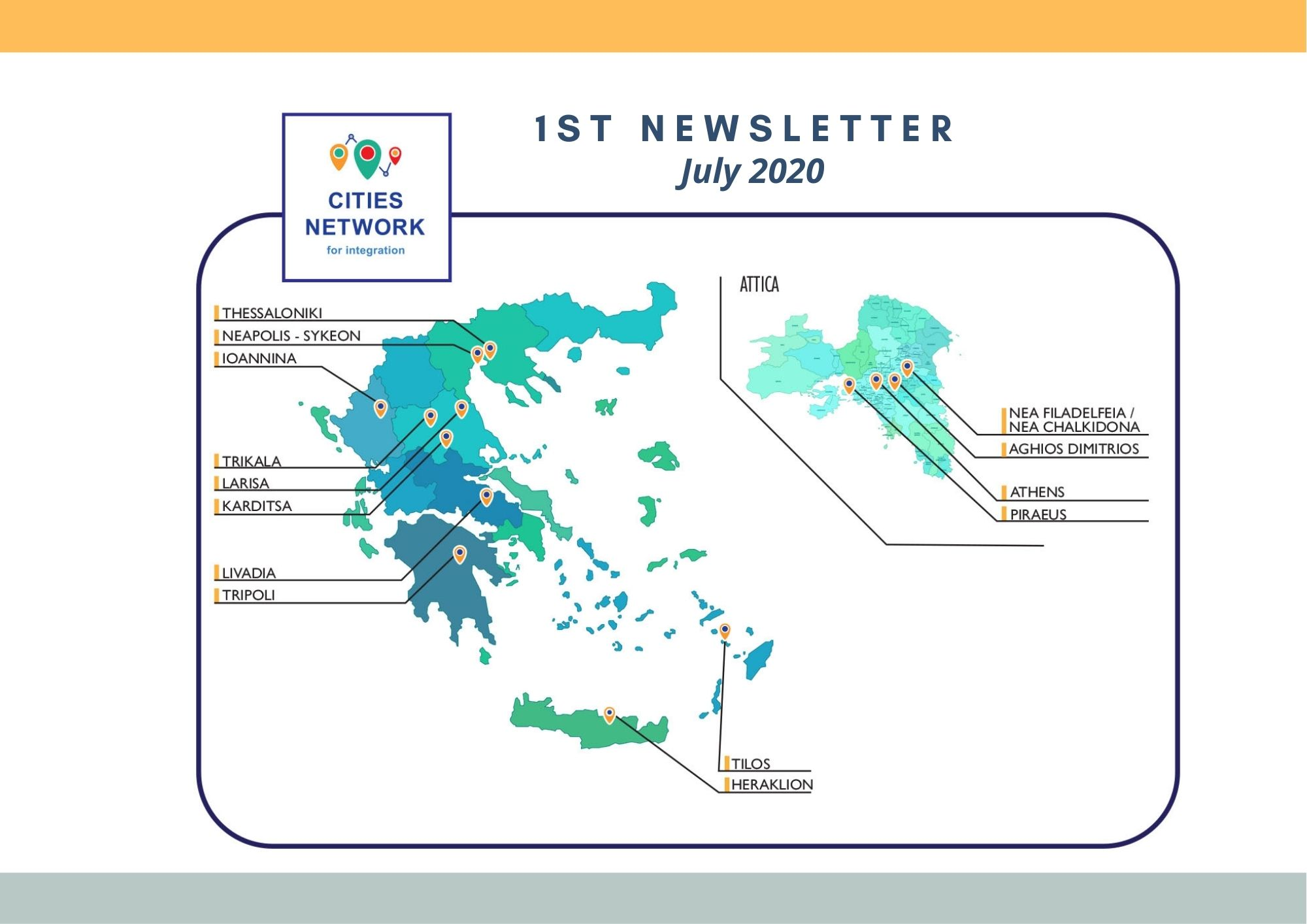 1st Cities Network for Integration newsletter